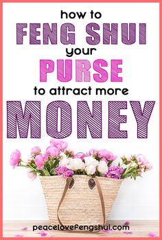 feng shui tip: how to feng shui your purse (and wallet!) to attract more money! learn the secrets of applying feng shui to your purse and wallet so you can attract wealth! Feng Shui Purse, Feng Shui Wallet Colour, Feng Shui Your Wallet, Feng Shui And Money, Feng Shui Wealth, How To Feng Shui Your Home, Feng Shui Basics, Feng Shui Tips, Konmari