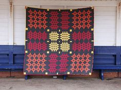 Welsh Blanket Quilt - Caernarfon | by Mary-and-Tobit