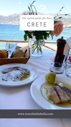 East Crete Greece - the stylish guide המדריך למזרח כרתים יוון the Domes of Elounda from domes resorts, the best beaches restaurants sea, villages, and tips you wish to find when traveling to Crete Crete Island Greece, Table Decorations, Resorts, Beaches, Restaurants, Traveling, Sea, Stylish, Tips