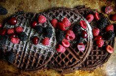 Chocolate Waffles- Vegan and Gluten Free   Heather Christo