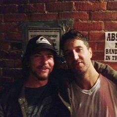Ed Vedder & Joseph Arthur