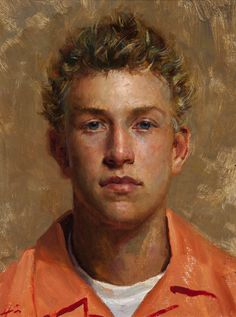 Portrait by Jeff Hein, Oil, Salt Lake City, Utah