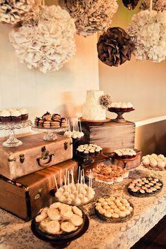 vintage burlap | Tamara & Steve Burlap & Lace Themed Vintage DIY Wedding Heather Lynn ...