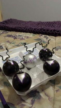 Maleficent ornaments disney villains Christmas tree 2014
