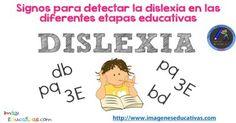 Signos para detectar la dislexia en las diferentes etapas educativas - Imagenes Educativas