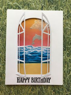 Cards, Cakes, Crafts and Catastrophes! Sea Theme, Hero Arts, Stamping, Card Making, Arts And Crafts, June, Happy Birthday, Cakes, Kit