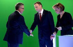 Sondaż prezydencki IBRiS: Bronisław Komorowski nieznacznie wygrywa z Andrzejem Dudą - Wiadomości - WP.PL