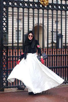 Tea and Rose | Dian Pelangi Muslimah inspiration hijab
