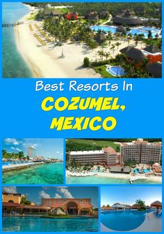 The best All-Inclusive Cozumel resorts, Mexico: Cozumel Palace, Fiesta Americana, Hotel Cozumel and Resort, El Cozumeleno Beach Resort, Grand Park Royal, Iberostar, El Cid La Ceiba Beach Hotel, The Explorean, Secrets Aura, Sunscape Sabor