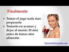 Jugos para limpiar el hígado -¡Si! -Jugos para limpiar el hígado - YouTube www.quematugrasaya.com
