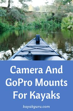 Kayak Fishing Boats Guide To Camera And GoPro Mounts For Kayaks. Our take on the different types of mounts available to buy on the market today. Fishing 101, Best Fishing, Kayak Fishing, Saltwater Fishing, Fishing Boats, Kayak For Beginners, Recreational Kayak, Kayaking Tips, Kayak Accessories