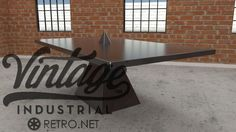 Tetra Table by Vintage Industrial Furniture