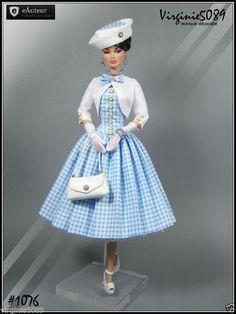 Tenue Outfit Accessoires Pour Fashion Royalty Barbie Silkstone Vintage 1076…