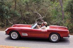 1957 Ferrari 250 GT California Spyder by Scaglietti designed by Pininfarina, chassis 0769 GT. This Ferrari (serial number 0769 GT) is the prototype 250 GT . Shelby Daytona, Alfa Romeo 8c, Ford Gt40, Pebble Beach, Ferrari, California