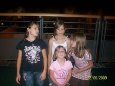 Makayla, Maddy, Katie and Makenzie