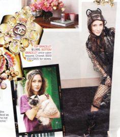 Laetitia Crahay accessories designer for Chanel has a cat