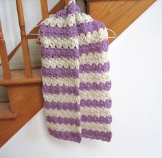 I just read an amazing article called: Springtime Puffed Shells Crochet Scarf!. You can read the article here: http://www.allfreecrochet.com/Scarves/Springtime-Puffed-Shells-Crochet-Scarf