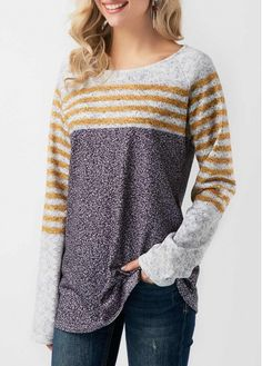 Shop Womens Fashion Tops, Blouses, T Shirts, Knitwear Online Womens Trendy Tops, Long Knit Cardigan, Fashion Outfits, Womens Fashion, Cute Shirts, Long Sleeve Shirts, T Shirts For Women, My Style, Clothes