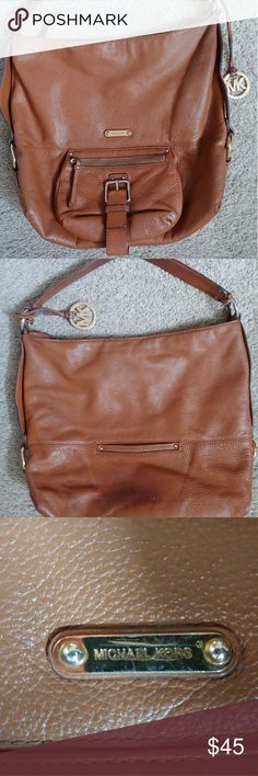 0ea8aa206763 Michael Kors leather Astor xl purse This is an extra large brown leather Michael  Kors Astor