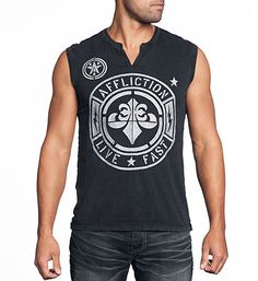 Find unique designer mens tank tops for sale at Affliction. As durable as they are comfortable, our mens tanks look and feel great, day in and day out. Affliction Clothing, Steampunk Men, Sport Pants, Men Pants, Hats For Men, Women Hats, Gq, Sport Outfits, Tank Man