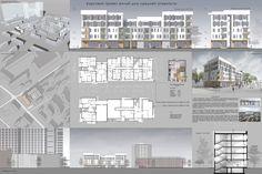 """учебный проект """"жилой дом средней этажности"""""""