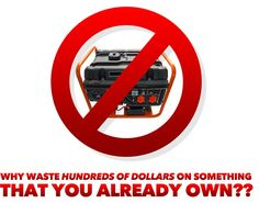 Do you enjoy spending hundreds or even thousands of dollars unnecessarily when you don't have to? If not, then you REALLY need to read this before you spend your hard-earned money on a portable gas generator! Gas Powered Generator, Diy Generator, Portable Generator, Survival Prepping, Emergency Preparedness, Survival Skills, Disaster Plan, Best Investments, Alternative Energy