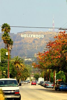 Hollywood, Los Angeles, California places-i-d-like-to-go Places To Travel, Travel Destinations, Places To Visit, Voyage Usa, San Gabriel Mountains, Usa Tumblr, Hollywood Sign, Hollywood Hills, Hollywood Stars