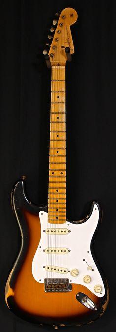 Fender Masterbuilt 1957 Stratocaster Relic 2-Tone Sunburst Yuri Shishkov - Jesse Gago Guitars