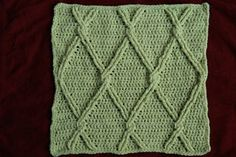 Ravelry: Diamond Lattice Square pattern by Mary Rhodes