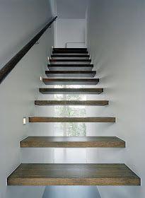 Casas Minimalistas y Modernas: Escaleras Minimalistas