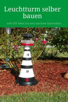 Möchten Sie Den Eigenen Outdoor Bereich Für Den Sommer Dekorieren, Dann  Können Sie Mit Einem Leuchtturm Für Den Garten Eine Wundervolle Maritime  Gartendeko ...