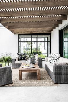 Stylish Furniture & Homeware for Sale Online Outdoor Couch, Outdoor Living, Outdoor Decor, Patio Table, Patio Chairs, Outdoor Seating Areas, Outdoor Spaces, Outdoor Range, Modern Bedroom Furniture