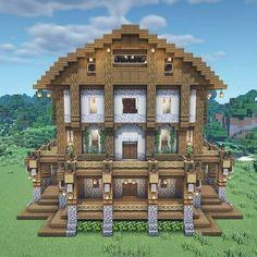 Minecraft Medieval House, Minecraft Shops, Minecraft House Plans, Minecraft Farm, Minecraft Mansion, Minecraft Houses Survival, Minecraft House Tutorials, Cute Minecraft Houses, Minecraft House Designs