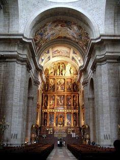 El Escorial Basilica - Eva & Benoit's wedding