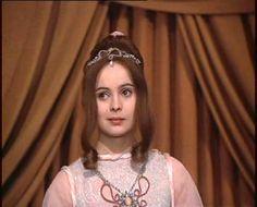 Tři oříšky pro Popelku - the ballgown, and the ever adorable Libuše Šafránková as Cinderella...