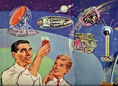 """Christens it """"The Flaming Ginger"""", and toasts all his scientific endeavors. Clothing Line Names, Space Books, Belly Laughs, Nonfiction, Christening, Religion, Sci Fi, Baseball Cards, Photo And Video"""