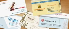 Eggshell with Romalian Type: The Art of Business Card Design