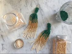DIY Panduro – Bead Earrings - YouTube