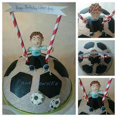 Sandra´s Fantasiewolke: Fußball- Torte