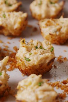 Baking Crab Cake Bites Video — Crab Cake Bites Recipe How To Video (Crab Cake Recipes) Appetizers For Party, Appetizer Recipes, Seafood Appetizers, Crab Appetizer, Christmas Cocktail Party Appetizers, Cocktail Party Food, Bite Size Appetizers, Appetizer Ideas, Holiday Parties