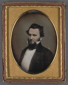 J. Neely Johnson, ca. 1852. Johnson served as Governor from 1856 - 1858