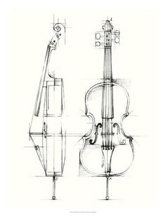 Ethan Harper Solid-Faced Canvas Print Wall Art Print entitled Cello Sketch, None Cello Kunst, Cello Art, Cello Music, Music Drawings, Art Drawings, Pencil Art, Pencil Drawings, Kunst Poster, Industrial Design Sketch