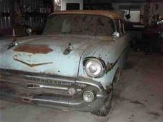 Old Chevy Cars in Barns - Bing Images