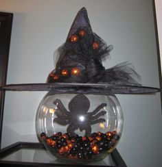 halloween centerpiece halloween centerpiece by SpiceyBirdCreations, $59.00