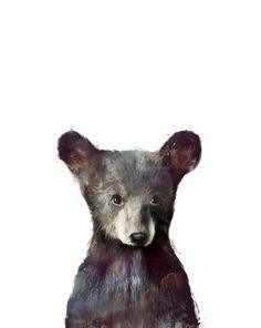Little Bear Art Print