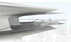 Private house near Moscow by Zaha Hadid.
