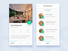 Restaurant App by sumit chakraborty - Dribbble Android App Design, App Ui Design, User Interface Design, Restaurant App, Restaurant Menu Design, Restaurant Order, Restaurant Website, Profile App, Module Design