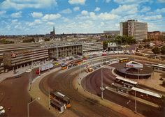station Rotterdam Centraal stationsgebouw III (1970)