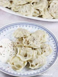 Pielmieni | AniaGotuje.pl Cauliflower, Macaroni And Cheese, Vegetables, Pierogi, Ethnic Recipes, Food, Food And Drinks, Mac And Cheese, Cauliflowers