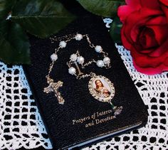 New  Unbreakable Chaplet of St. Maria Goretti  by foodforthesoul, $24.95